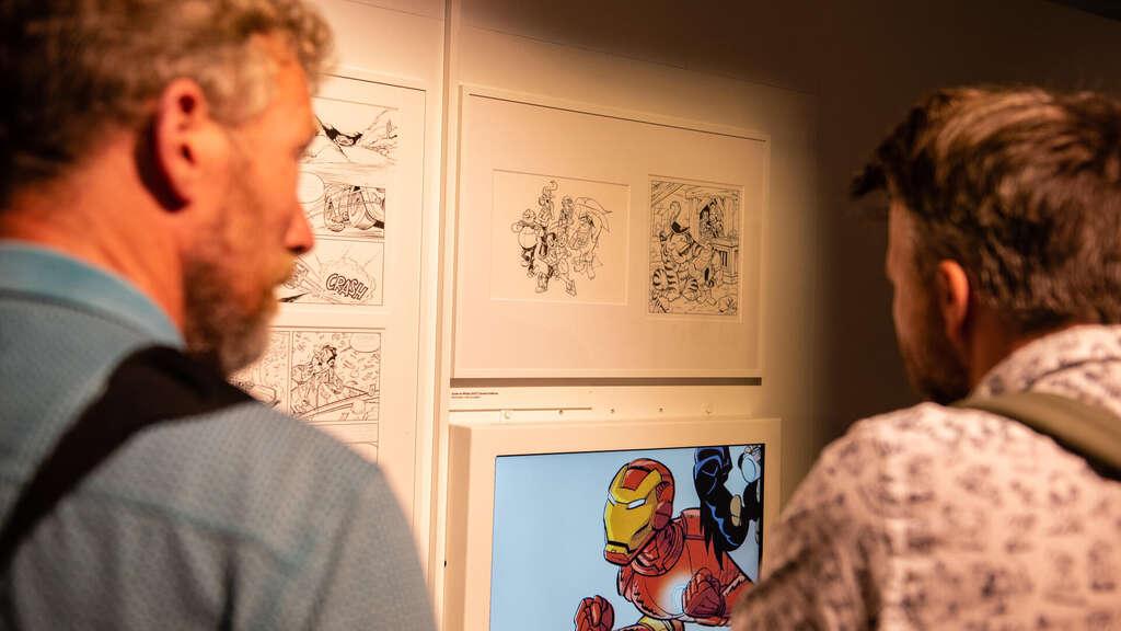 Spotlight Gerben Valkema Striptekenaar van het jaar 1 (c) Bob de Vries